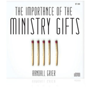 The Importance of the Ministry Gifts (Single CD)