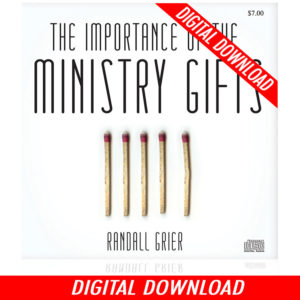 The Importance of the Ministry Gifts (Single MP3 Download)