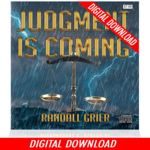 Judgment Is Coming (Single MP3 Download)