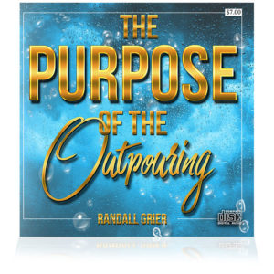 The Purpose of the Outpouring (Single CD)
