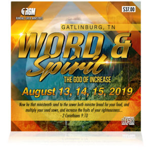 Word & Spirit: The God of Increase (5-CD Series)