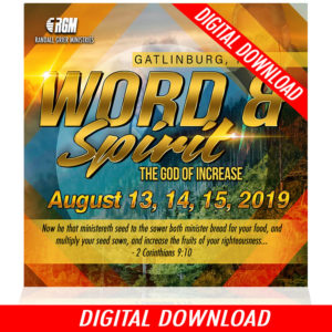 Word & Spirit: The God of Increase (5-MP3 Download)