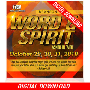 Word & Spirit: Asking In Faith (5-MP3 Download)