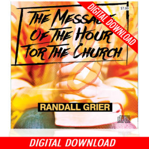 The Message Of The Hour For The Church (Single MP3 Download)
