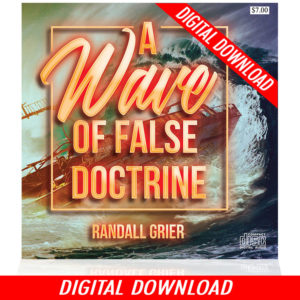 A Wave of False Doctrine (Single MP3 Download)