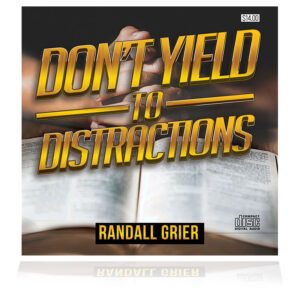 Don't Yield To Distractions (2-CD Series)