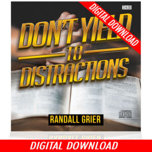 Don't Yield To Distractions (2-MP3 DOWNLOAD)