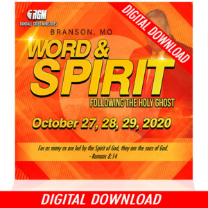 Word & Spirit: Following The Holy Ghost (5-MP3 DOWNLOAD)