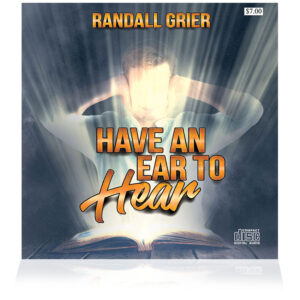 Have An Ear To Hear (Single CD)