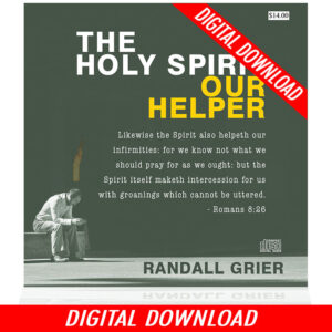 The Holy Spirit Our Helper (2-MP3 DOWNLOAD)