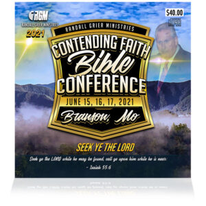 Contending Faith Bible Conference: Seek Ye The Lord  (7-CD SERIES)