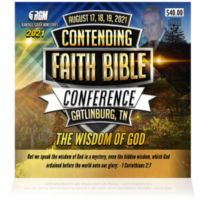 Contending Faith Bible Conference: The Wisdom Of God  (5-CD SERIES)
