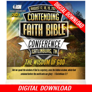 Contending Faith Bible Conference: The Wisdom Of God  (5-MP3 SERIES)