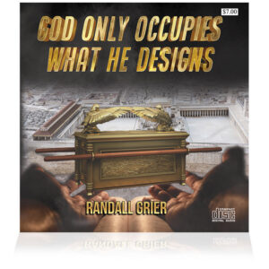 God Only Occupies What He Designs (Single CD)