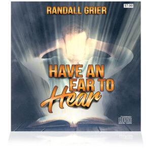 Have An Ear To Hear (Single CD)